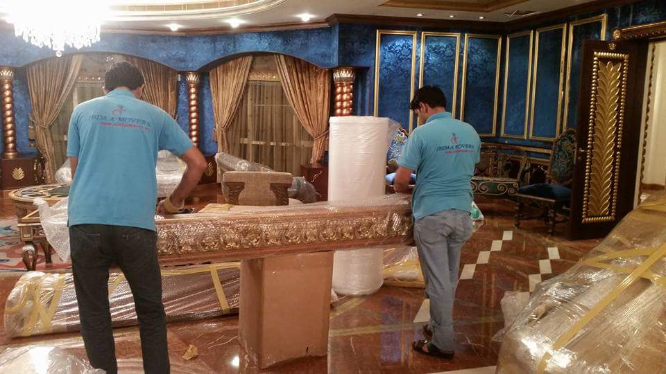 RELOCATION WITH MOVING COMPANY IN ABU DHABI