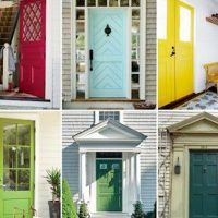 The painting steps below work best for solid wood and hollow-core doors. For vinyl-covered or plastic doors, you'll need to apply at least one coat of primer after sanding and before you begin painting. Choose a durable paint.